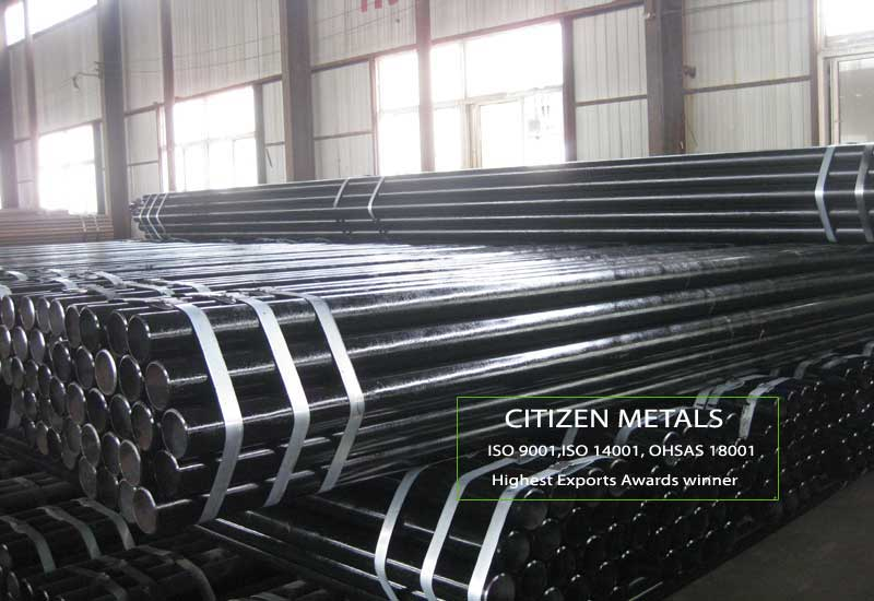 ASTM A53 Welded Black Steel Pipe