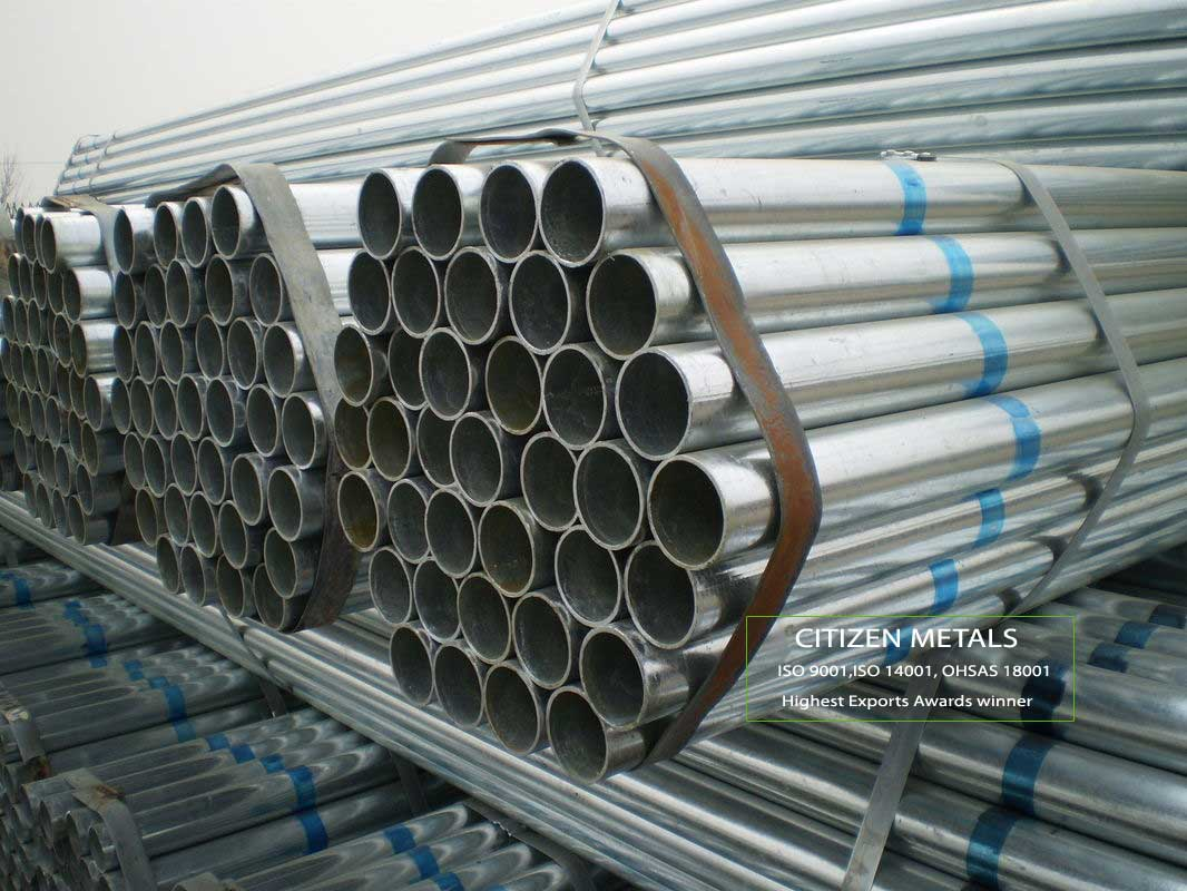 BS 1387 Galvanized Pipe