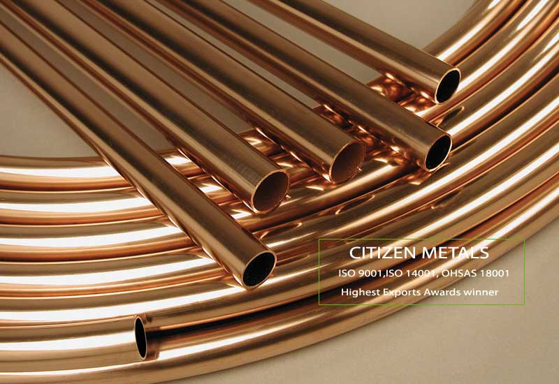 ASTM B 466 - B 467 Cupro Nickel Tubes