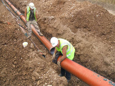 Ductile Iron Pipe (DI Pipe) Application