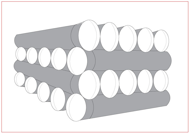 Ductile Iron Pipe (DI Pipe) Stacking