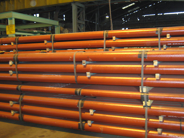 Ductile Iron Pipe (DI Pipe) Stacking Heights