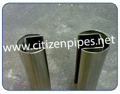 321 Stainless Steel Seamless Slot Round Pipe