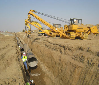 Water Pipeline Projects Saudi Arabia