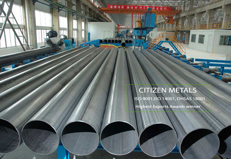 Stainless Steel ERW Pipe Manufacturers in India|ERW pipe
