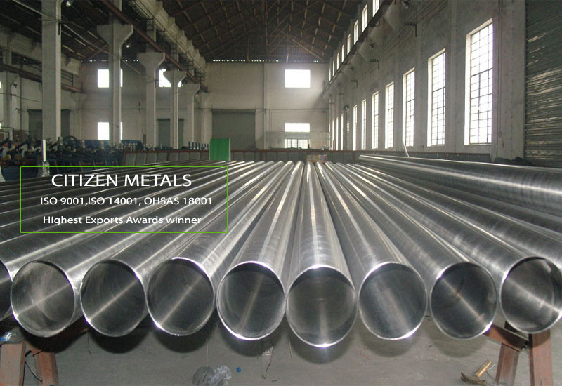 ASTM A554 Polished Stainless Steel Pipes Manufacturers in